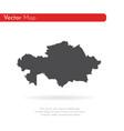 map kazakhstan isolated vector image vector image