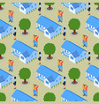 successful realtor real estate seamless pattern vector image vector image