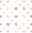 timber icons pattern seamless white background vector image vector image