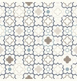 arabic geometry tangled moroccan pattern vector image vector image