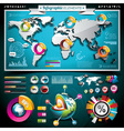 design set of infographic elements vector image vector image