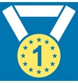 First medal icon from Competition Success vector image vector image