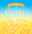 Harvest season vector image