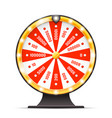 luck wortine weel turning lottery layerd 3d vector image