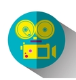 Movie and film entertainment vector image vector image