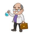 scientific laboratory science vector image