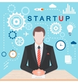 Stock Infographic Startup vector image