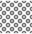 polka dot flower chaotic seamless pattern 110 vector image