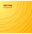 Abstract background with yellow layers vector image vector image