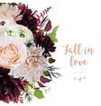 flower design card with cafe au lait amp vector image vector image