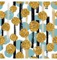 hand drawn painted seamless geometric pattern vector image vector image