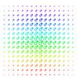 mars symbol icon halftone spectrum grid vector image vector image