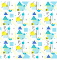 pattern geometric shapes stripes and zigzags vector image vector image
