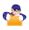 personal date thief vector image vector image