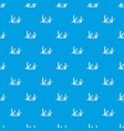 pocket flashlight pattern seamless blue vector image vector image