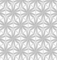 Repeating ornament gray hexagon net with lines vector image