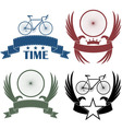 Road cycling vector image vector image
