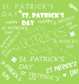 saint patricks day eps 10 vector image