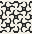 seamless geometric pattern with creative shapes vector image vector image