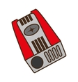 sharpener supply isolated icon vector image vector image