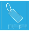 Tag sign White section of icon on vector image vector image