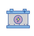 battery car service to mechanical repair vector image