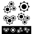 gear compositions vector image