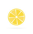 lemon fruit icon symbol eps10 vector image vector image
