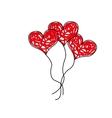 love toy ballon vector image vector image