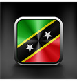 original and simple Saint Kitts and Nevis flag vector image
