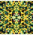 Triangular Mosaic Colorful Background Abstract vector image vector image