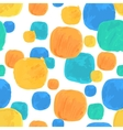 Watercolor Seamless Pattern With Blue and vector image