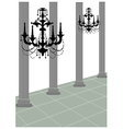 Chandler Roman Column vector image vector image