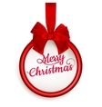 Christmas gift card EPS 10 vector image
