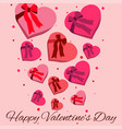 happy valentines day wishes vector image vector image
