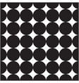 abstract black circle pattern background im vector image vector image