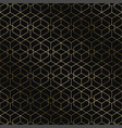 art deco geometric pattern - seamless vector image vector image