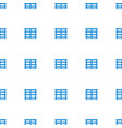 cargo box icon pattern seamless white background vector image vector image