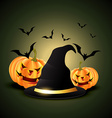 halloween festival vector image vector image