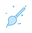 paint brush icon design vector image