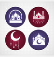 ramadan kareem celebration vector image
