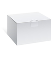 Realistic White Package Box For electronic device vector image