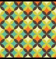 abstract retro geometric patterns set vector image vector image