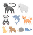 animals set icons in cartoon style big collection vector image vector image