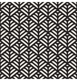 Black And White Seamless Organic Floral vector image vector image