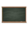 blackboard chalk template vector image