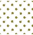 cauliflower hand drawn on white background hand vector image vector image