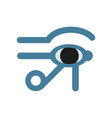 eye of horus egypt deity eye of ra antique vector image vector image