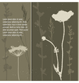 grey grass vector image vector image
