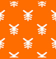 human thorax pattern seamless vector image vector image